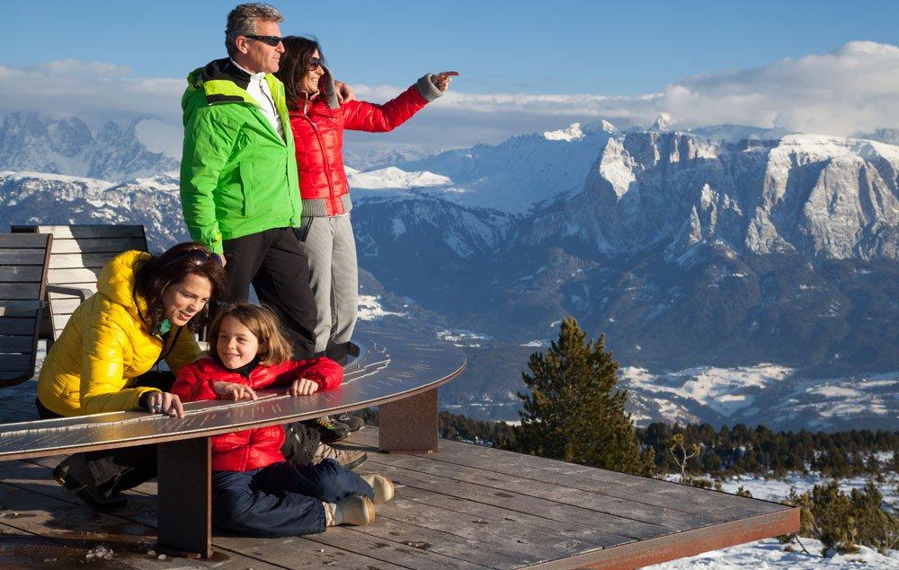 Godervi la vacanza invernale in Alto Adige